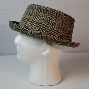 Vintage Men's Fedora Porkpie Hat